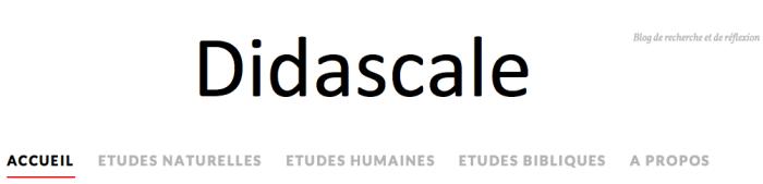 BlogDidascale